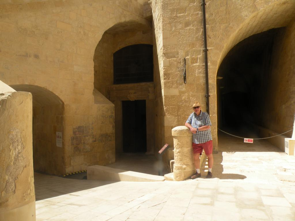 Graham at the Chapel of St Anne.JPG