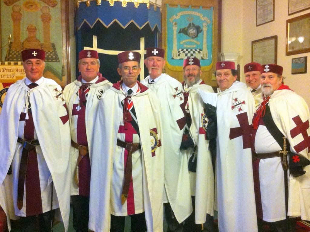 Worcestershire Knights Templar visit to Vectis Preceptory in Ryde I.O.W. 21st October 2011.jpg